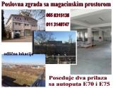 Beograd nekretnine - Poslovna zgrada sa magacinskim prostorom- Beograd