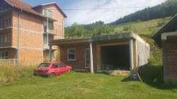 Novi Pazar real-estate - Plac kod Doma za stare Erozija sa započetim objektom