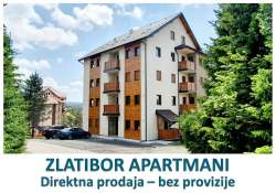 Zlatibor nekretnine - Novogradnja, Direktna prodaja stanova na Zlatiboru, investitor, povrat pdv